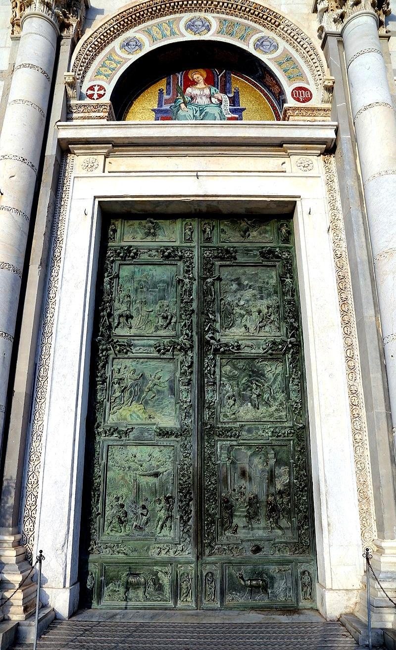 ворота пизанского собора