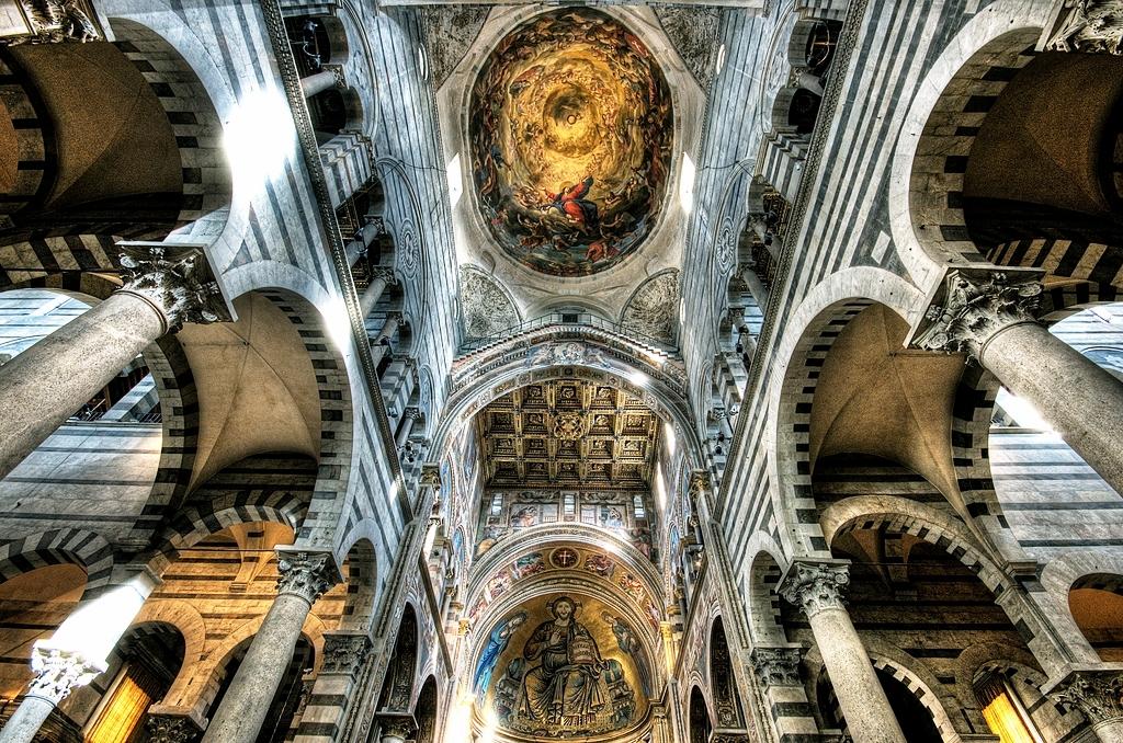 своды пизанского собора