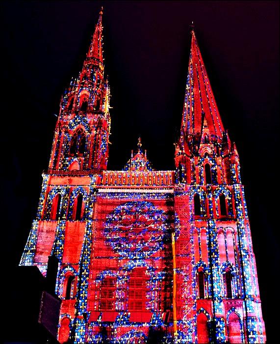 огни шартрского собора