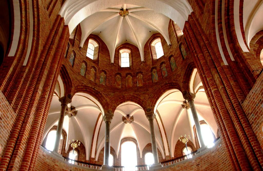 потолки собора в роскилле