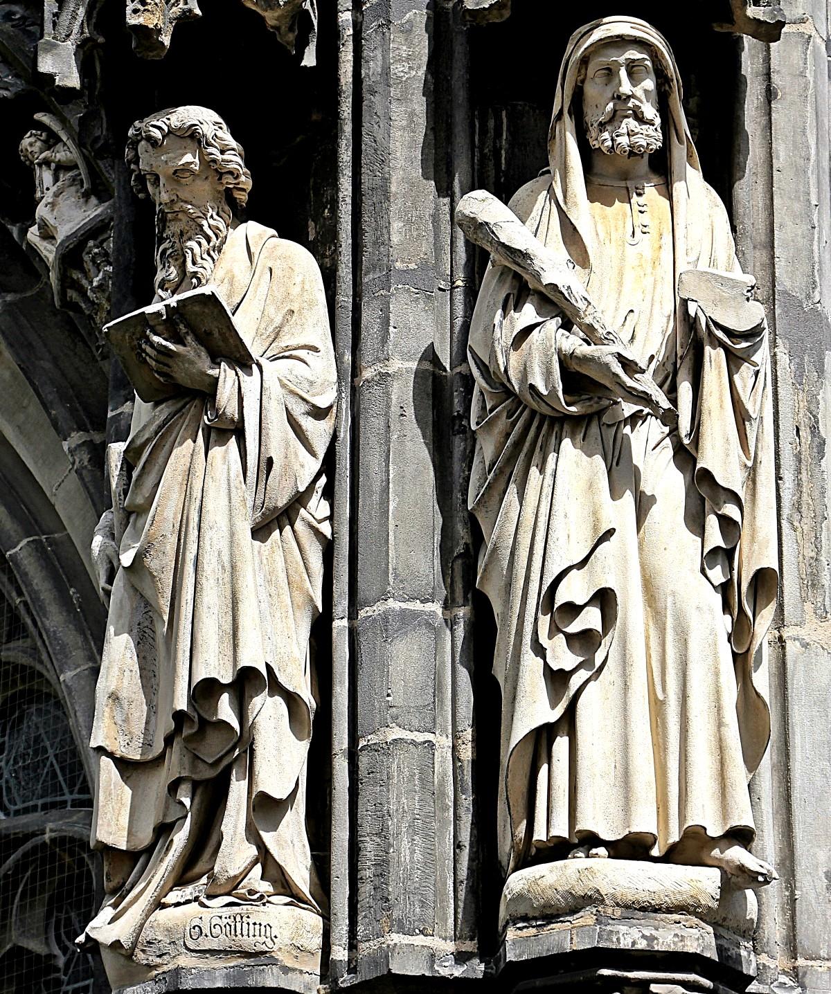 святые ахенского собора