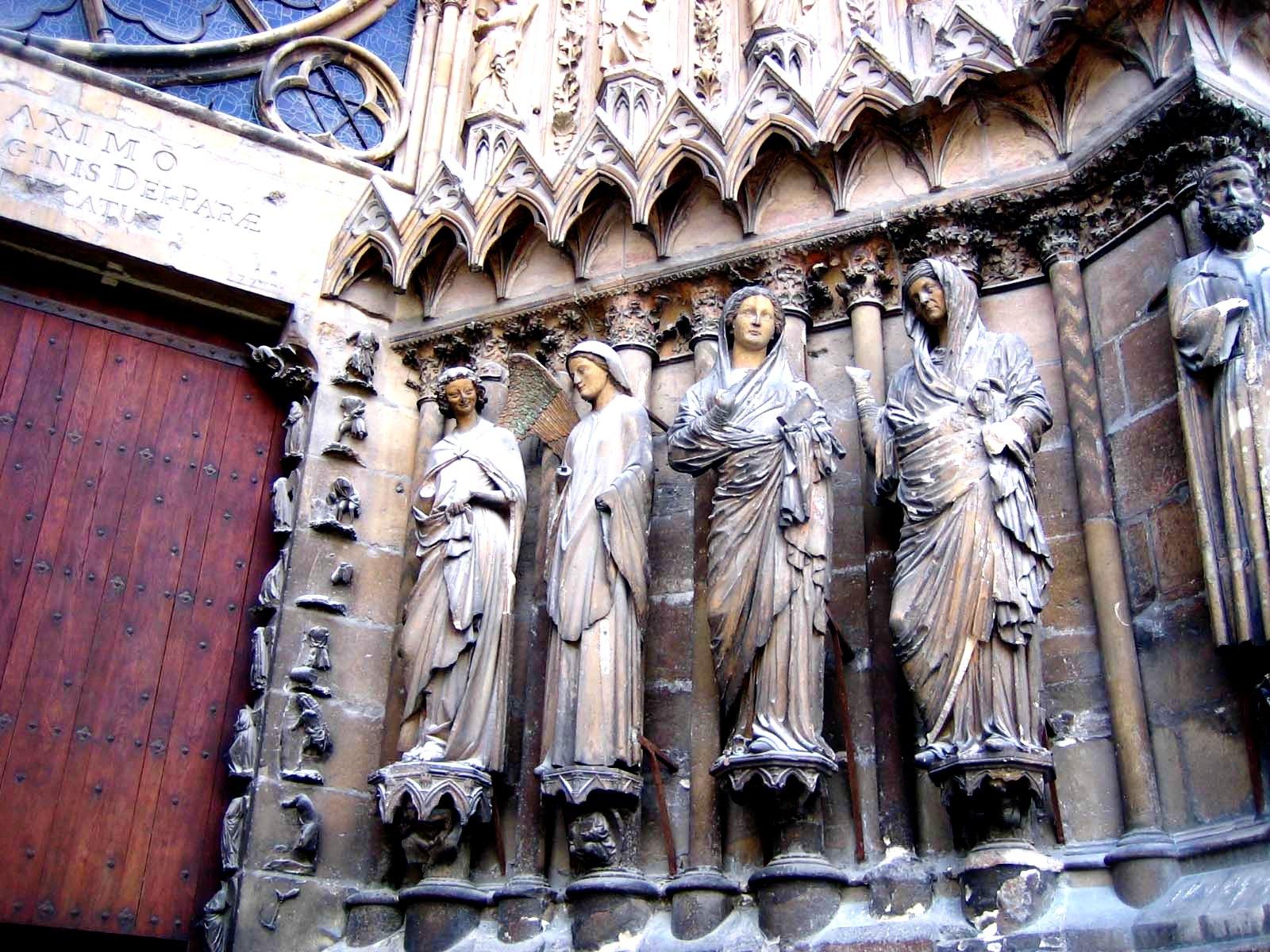 фигуры реймсского собора