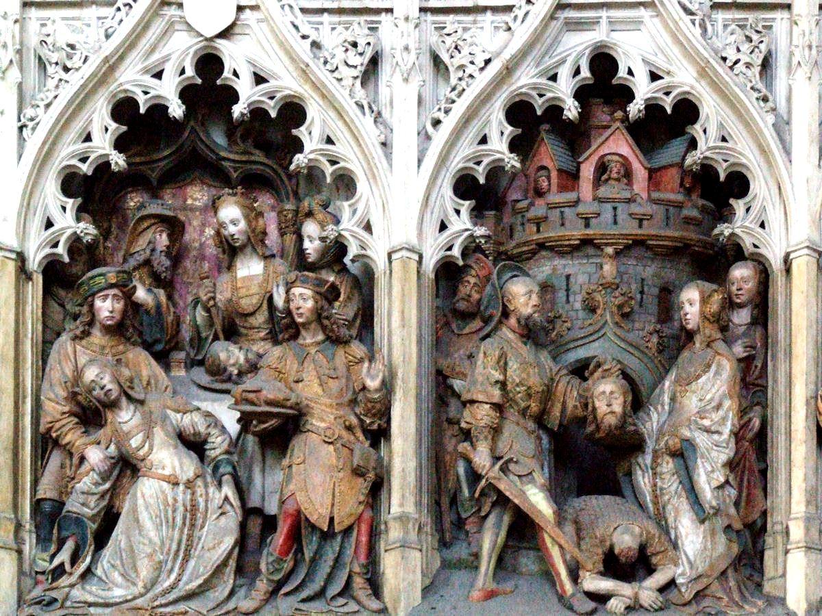 сюжеты амьенского собора