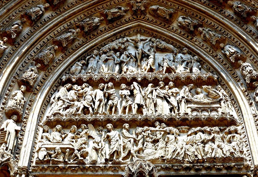 картины руанского собора