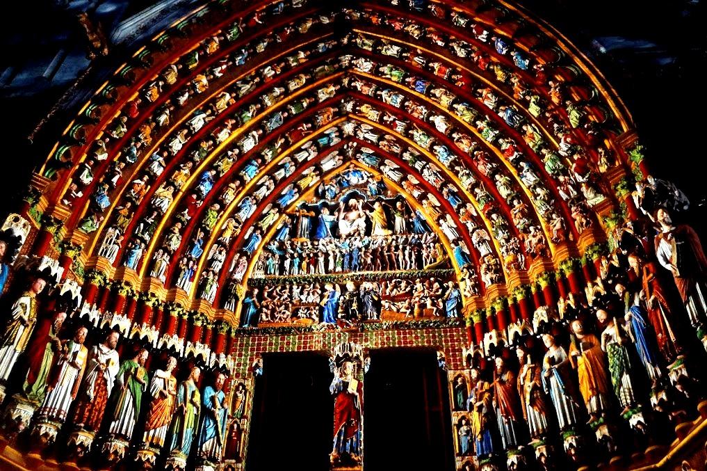сценки амьенского собора