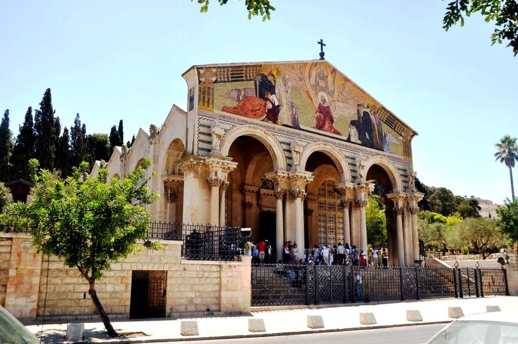 собор масличной горы