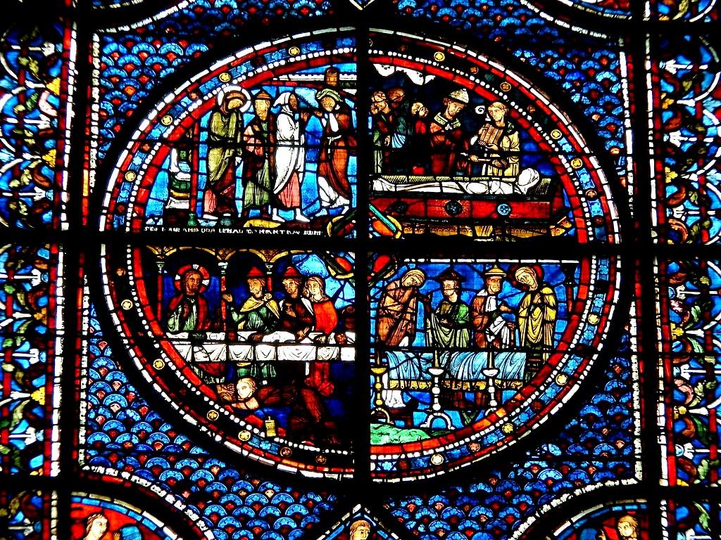 картина в шартрском соборе