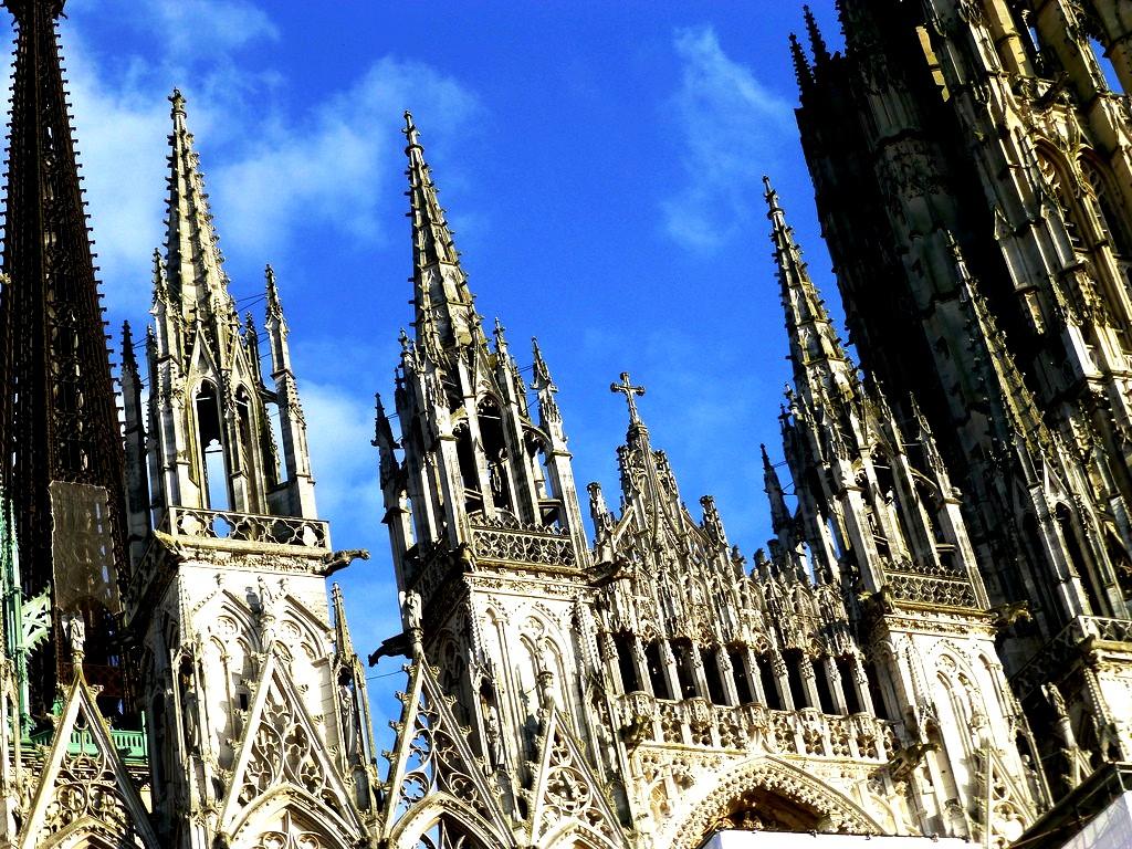 готический собор руана