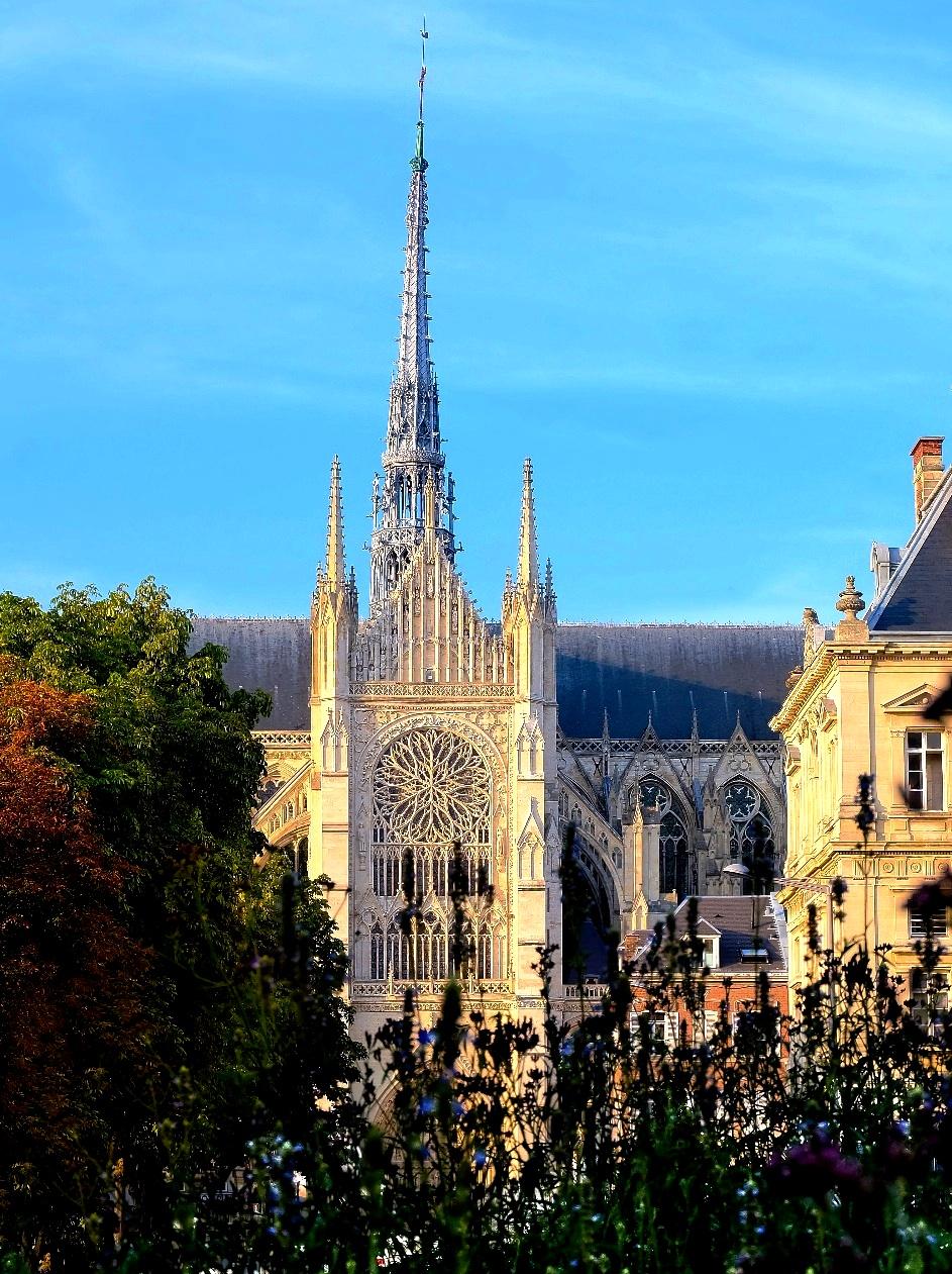 башня амьенского собора