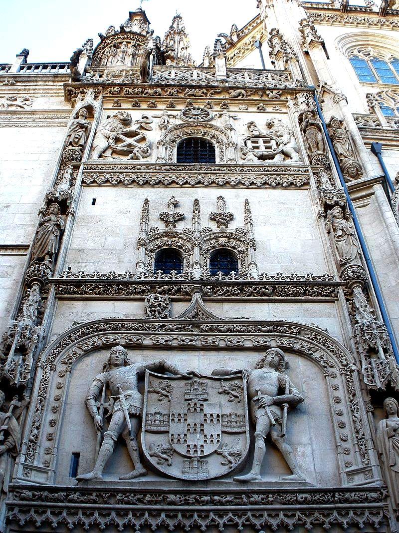 фасад бургосского собора