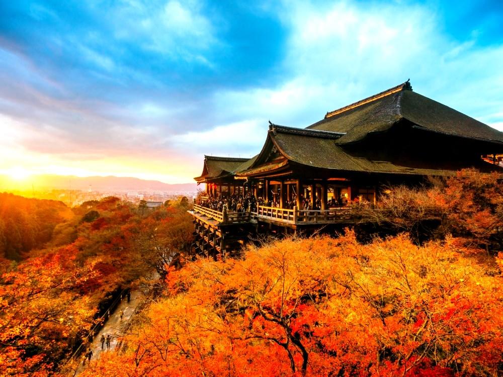 пейзажи киемидзу