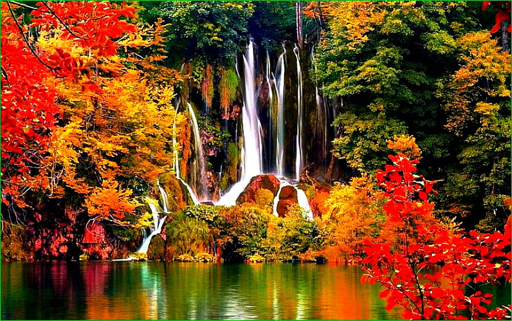 краски плитвицких озер