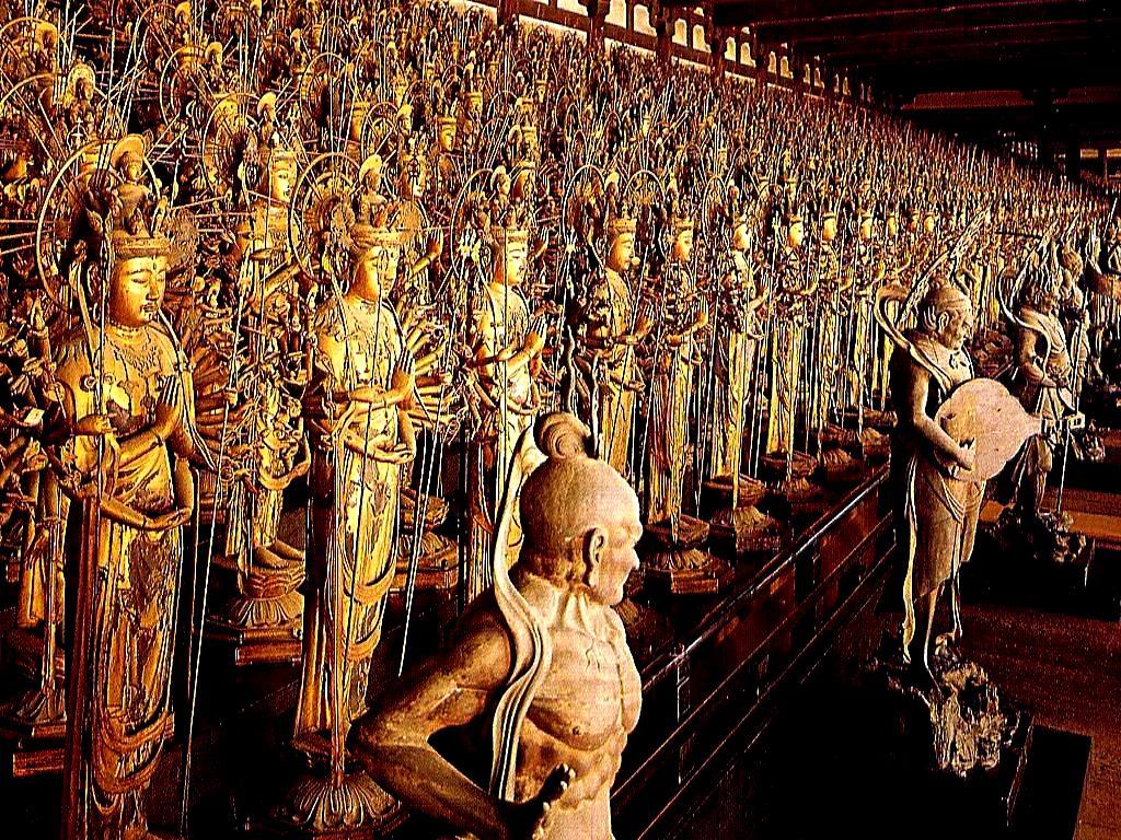 статуи каннон