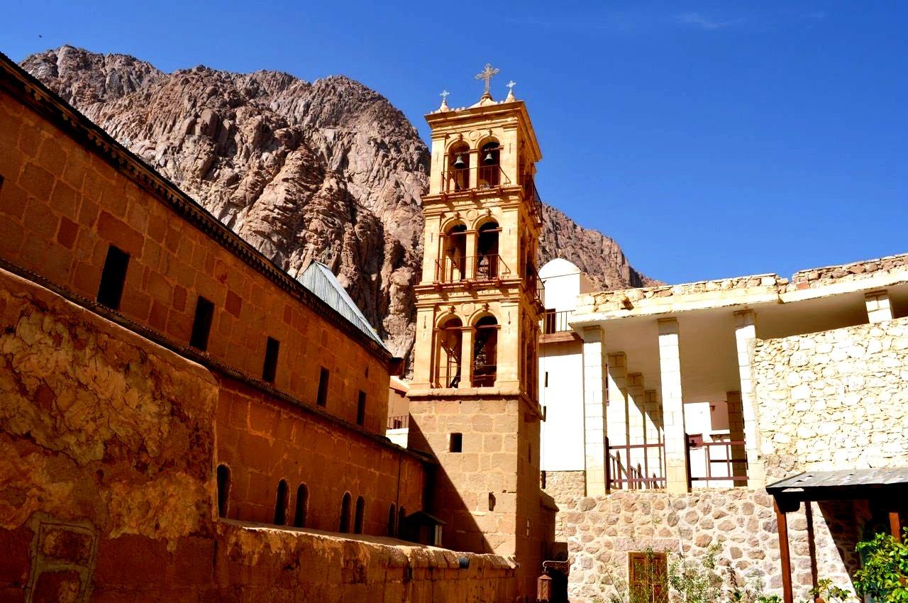 колокольня синайского монастыря