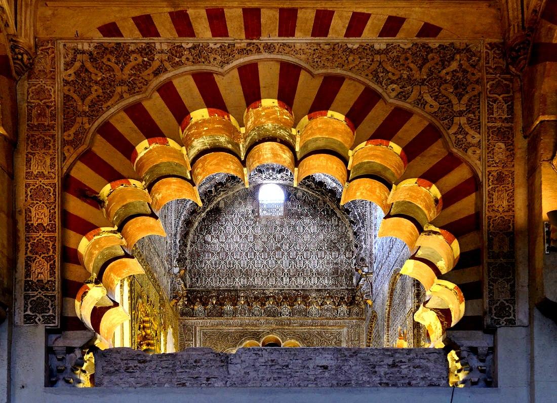 убранство кордовской мечети