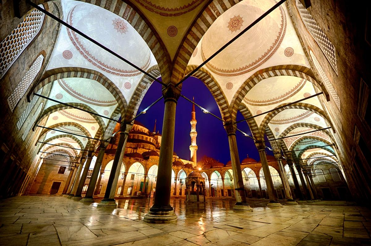 переходы голубой мечети