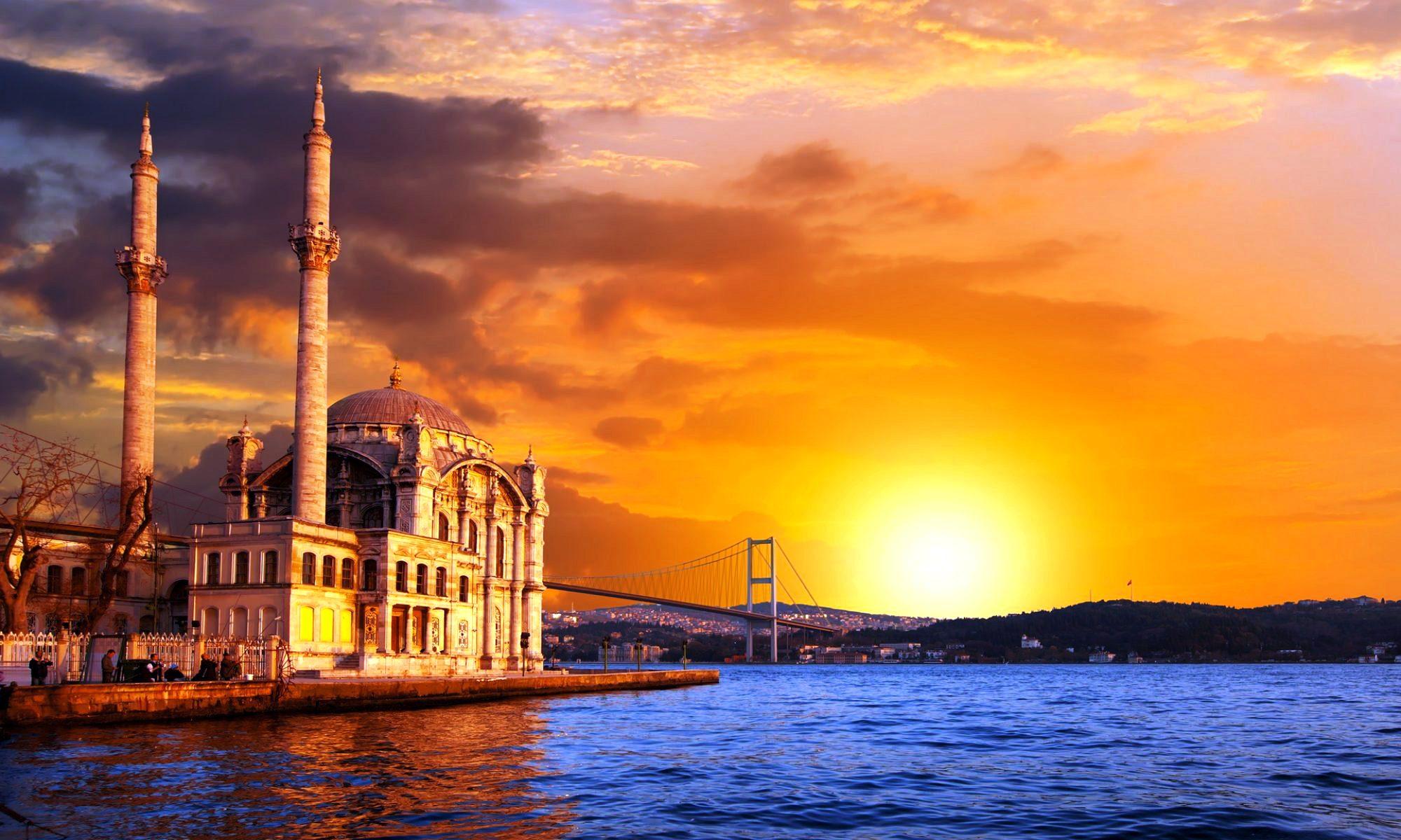 стамбульский закат