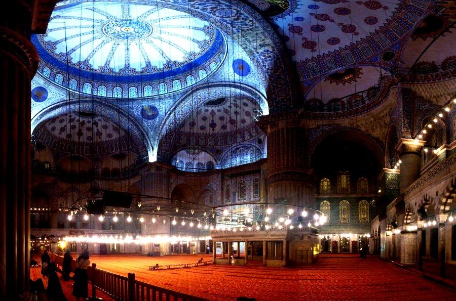 пространство голубой мечети