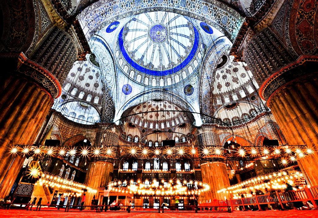 удивительная мечеть ахмедийе