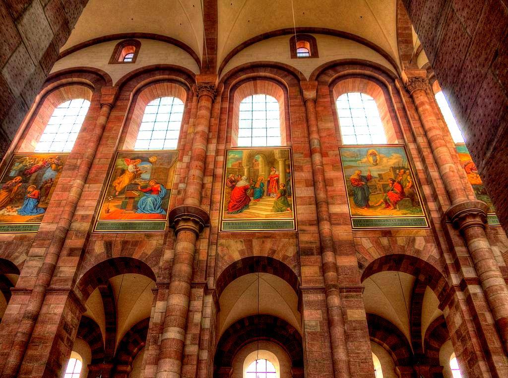 фрески собора в шпайере