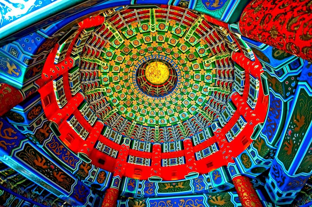 своды храма неба