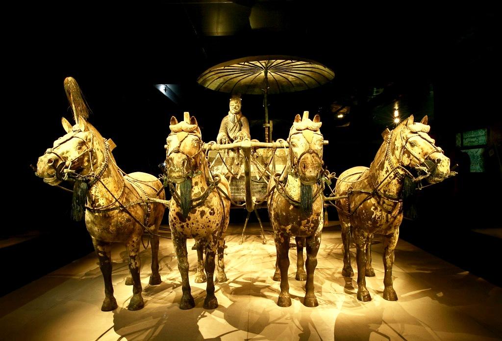 колесница ци шихуанди