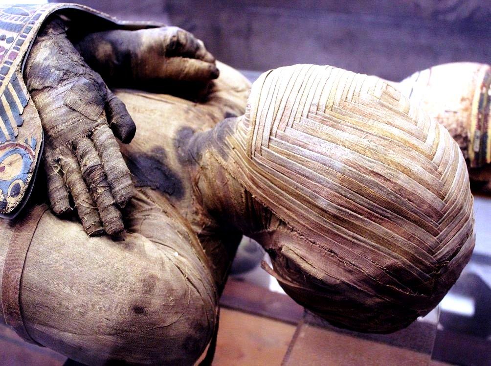 мумия жреца