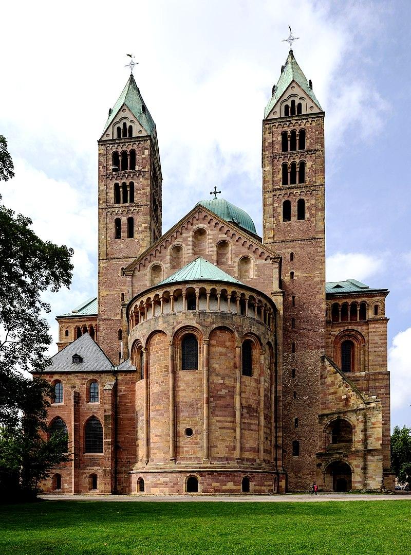 виды шпайерского собора