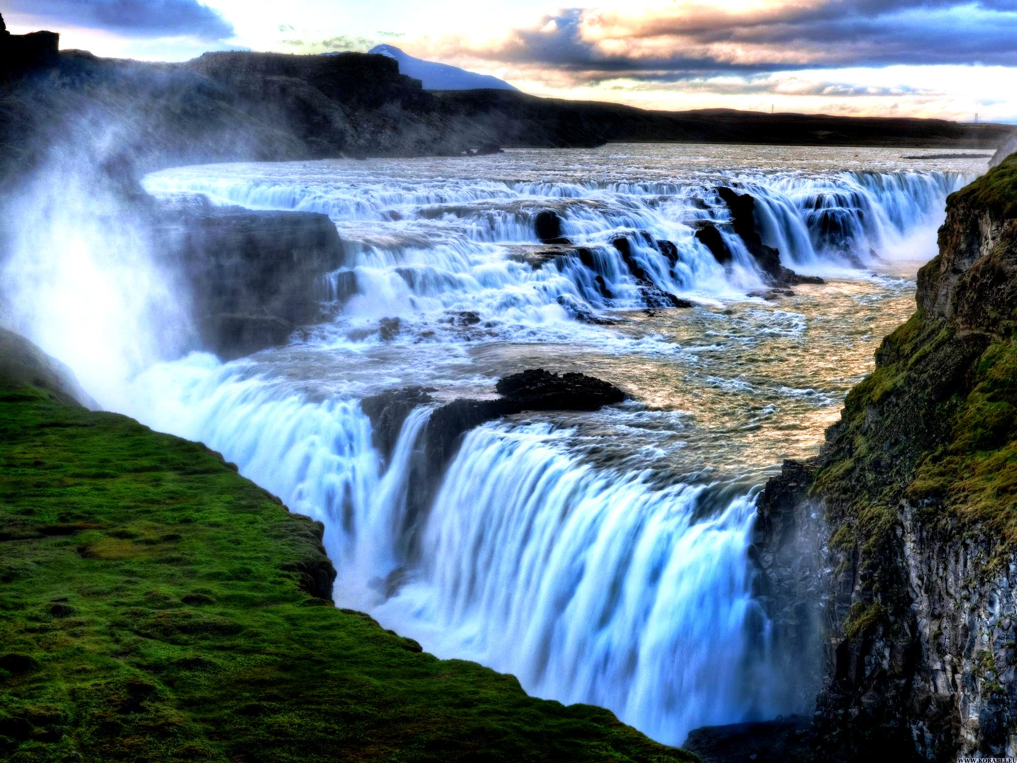виды водопада виктория