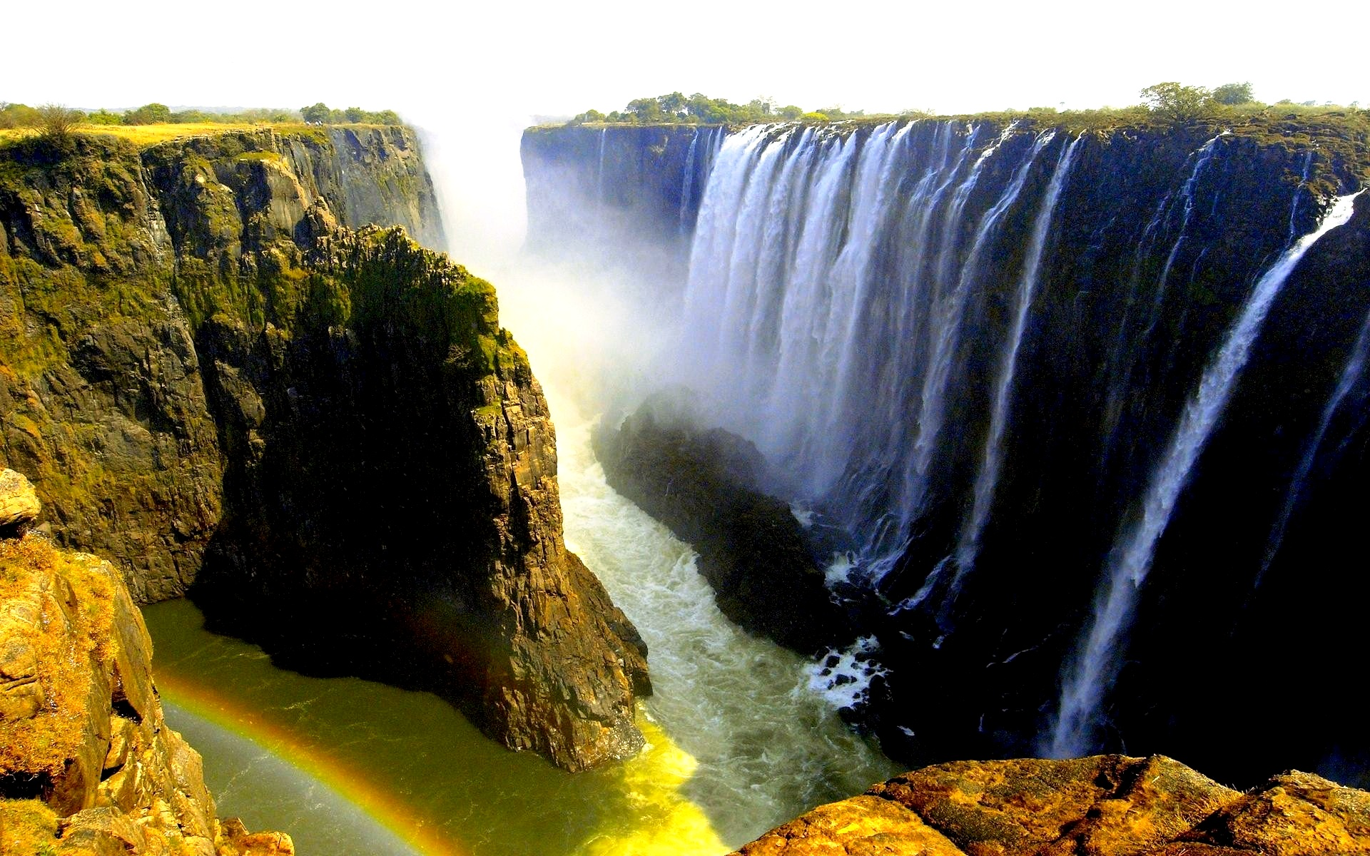 обзор водопада виктория
