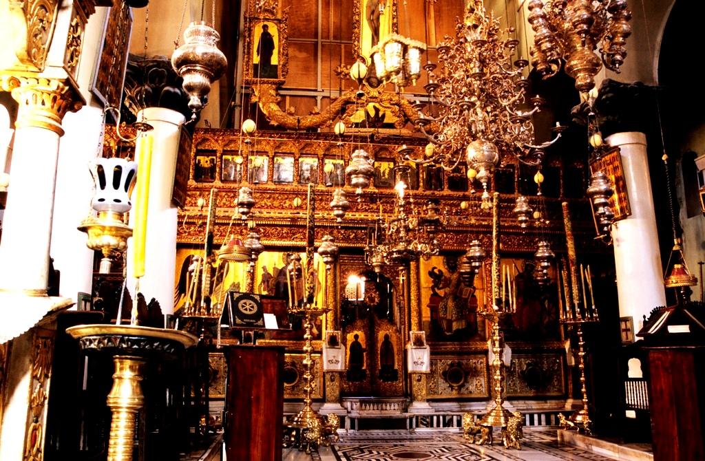 алтарь в монастыре св. Екатерины