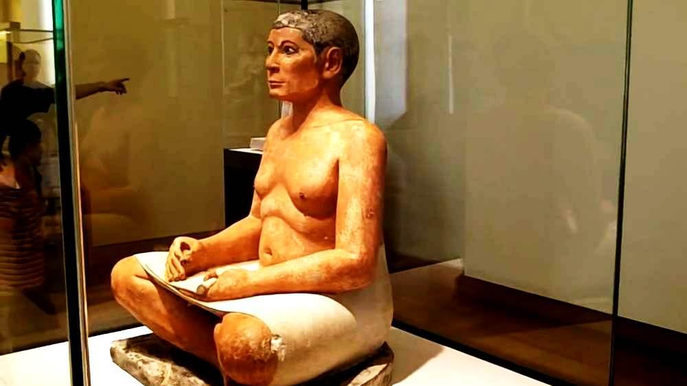 скульптура писца