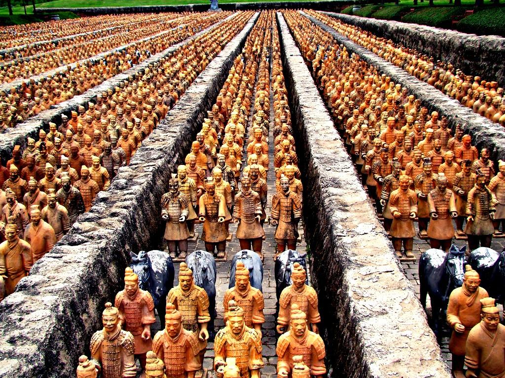 глиняное войско