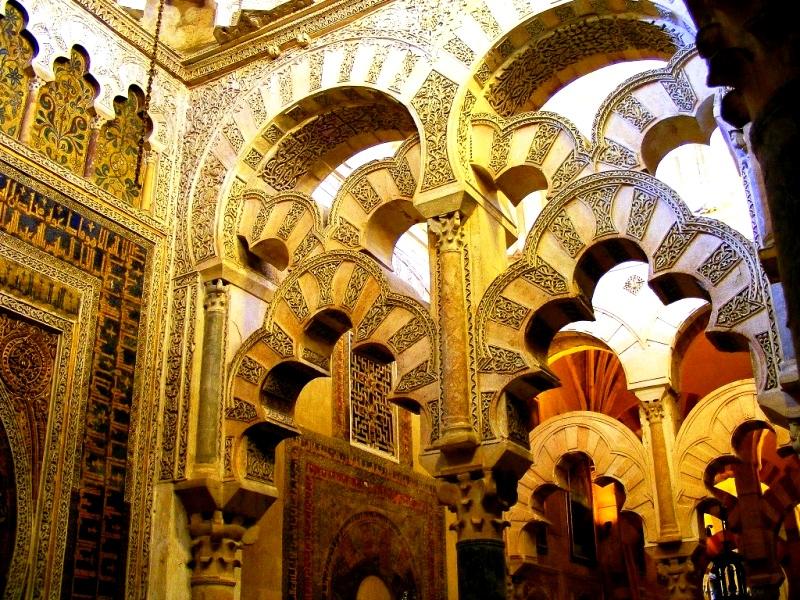арабские узоры из камня