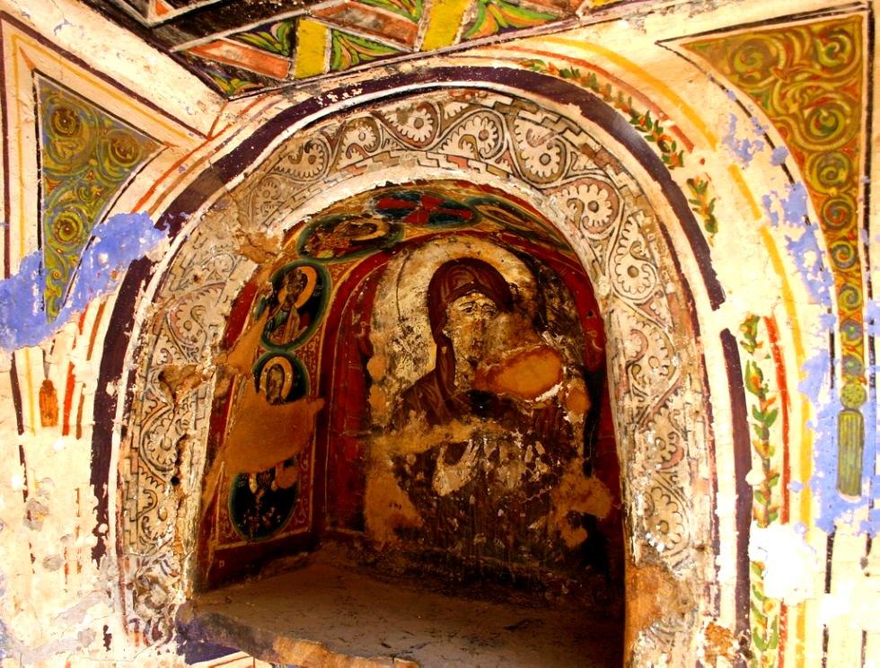 фреска святой екатерины