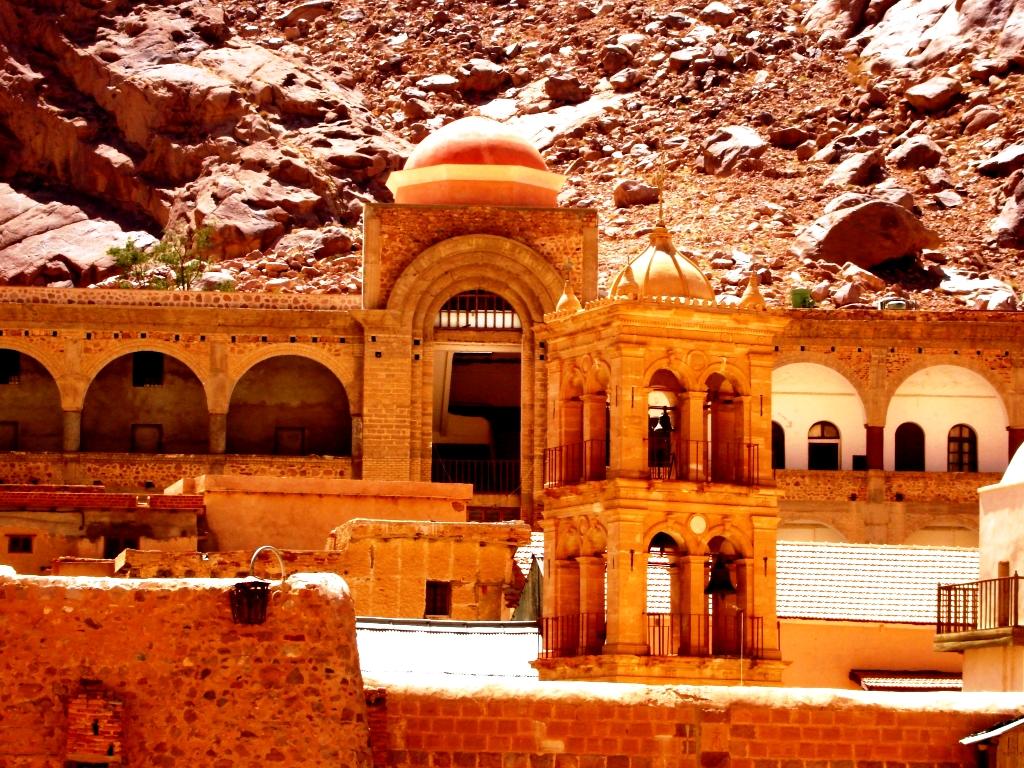 церковь в синайском монастыре