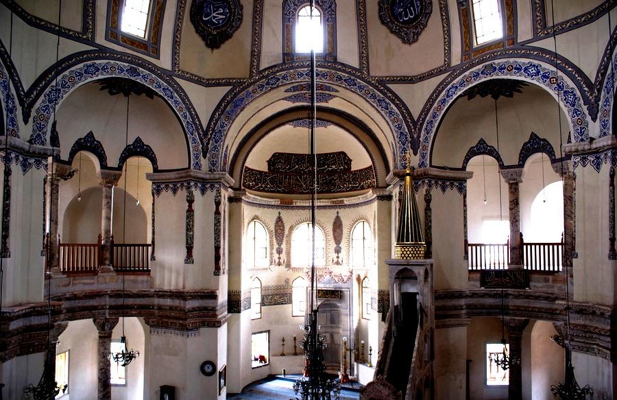 интерьер церкви сергия и бахуса
