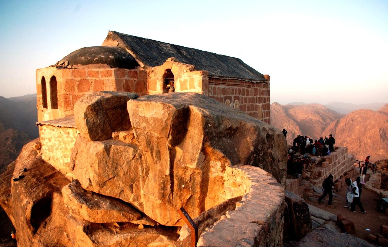 храм в синайском монастыре