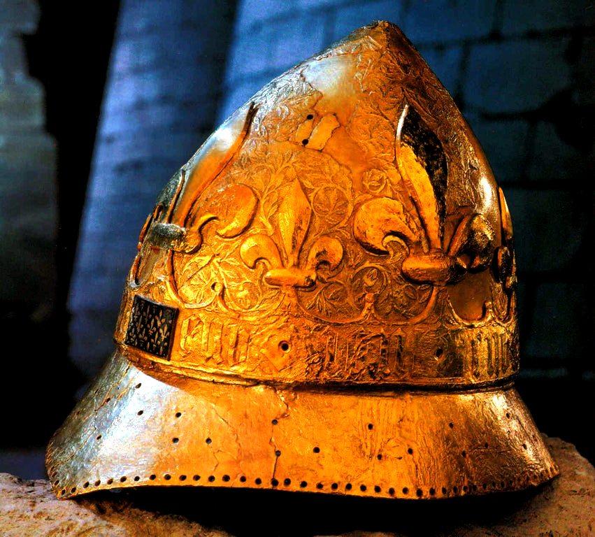 золотой шлем карла