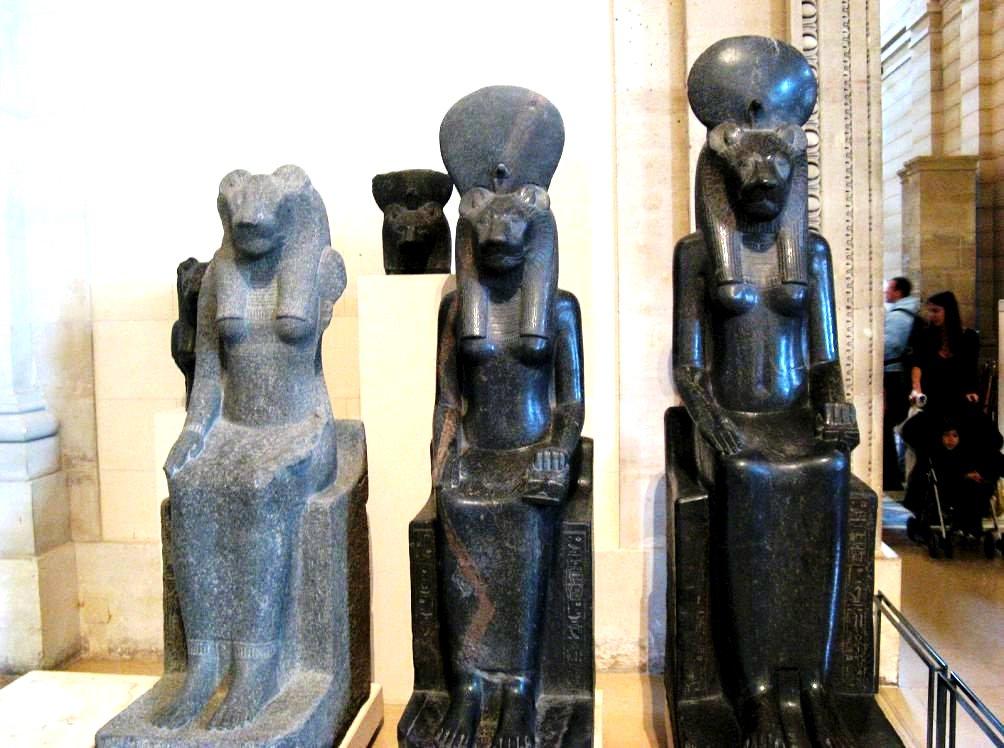 египетские экспонаты