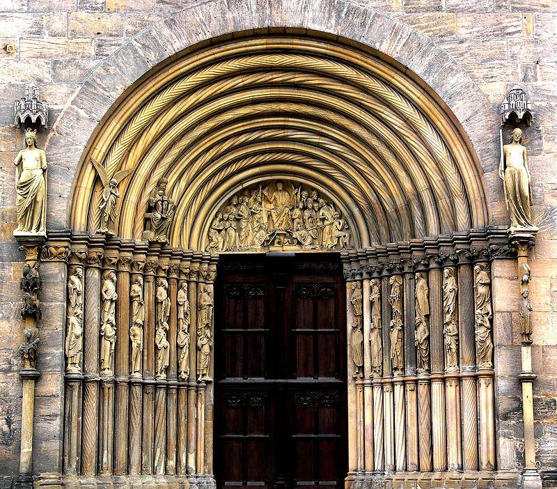 княжеский портал бамберга