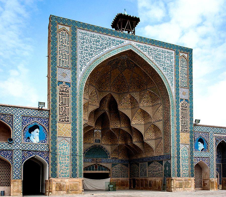 портал мечети джами