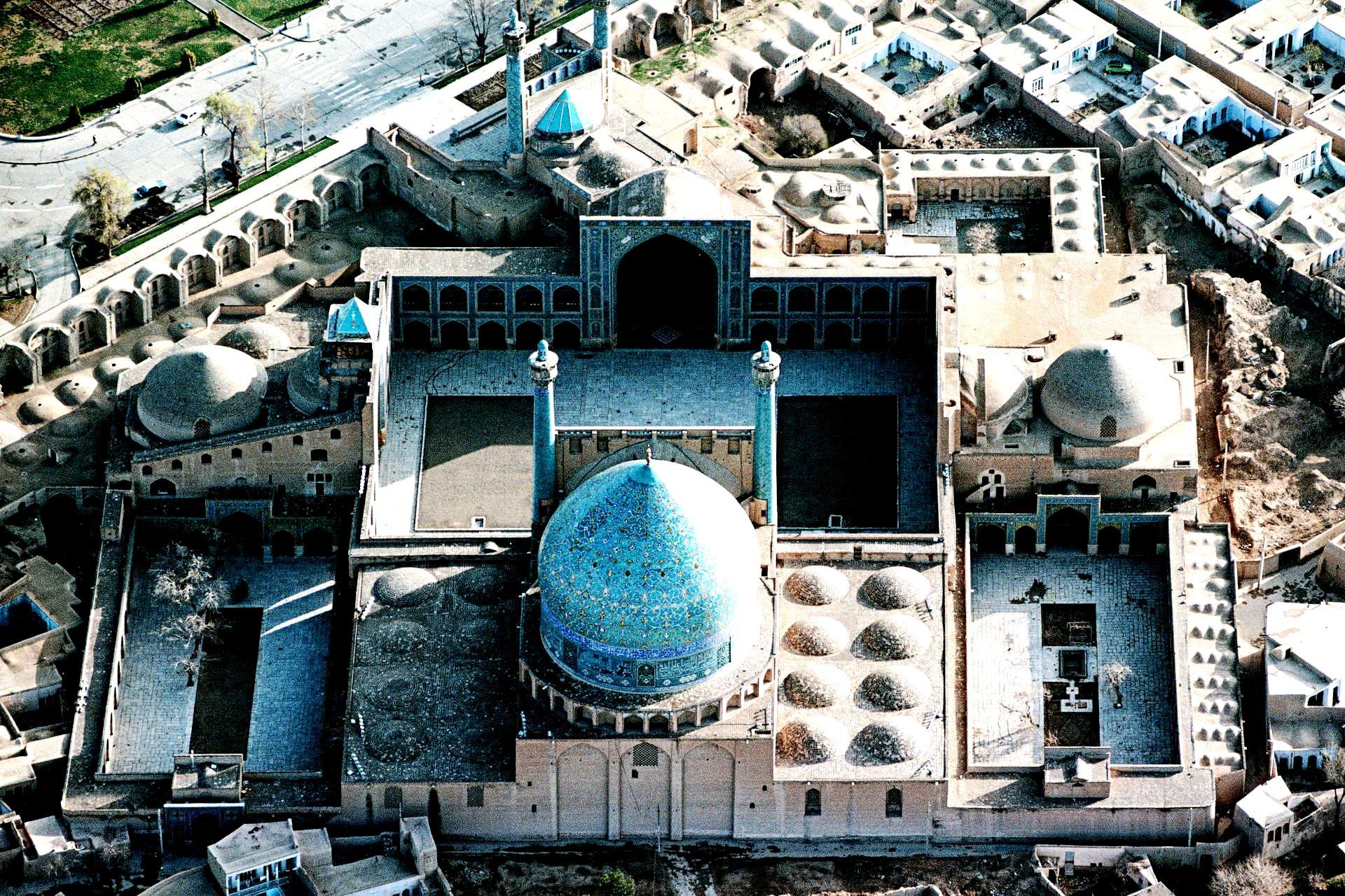 вид на мечеть джами