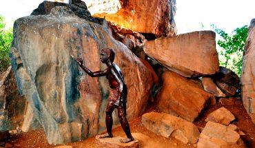 пещера бхимбетка