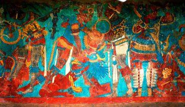 какаштла фрески