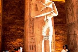 10скульптура фараона