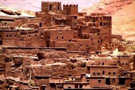 глиняный город бен-Хадду