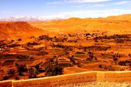 пустыня рядом с бен-Хадду
