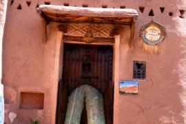стена дома в бен-Хадду