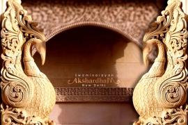 скульптуры храма Акшардхам